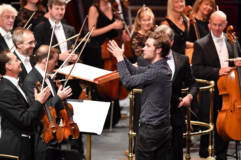 Tom Coult at the BBC Proms First Night