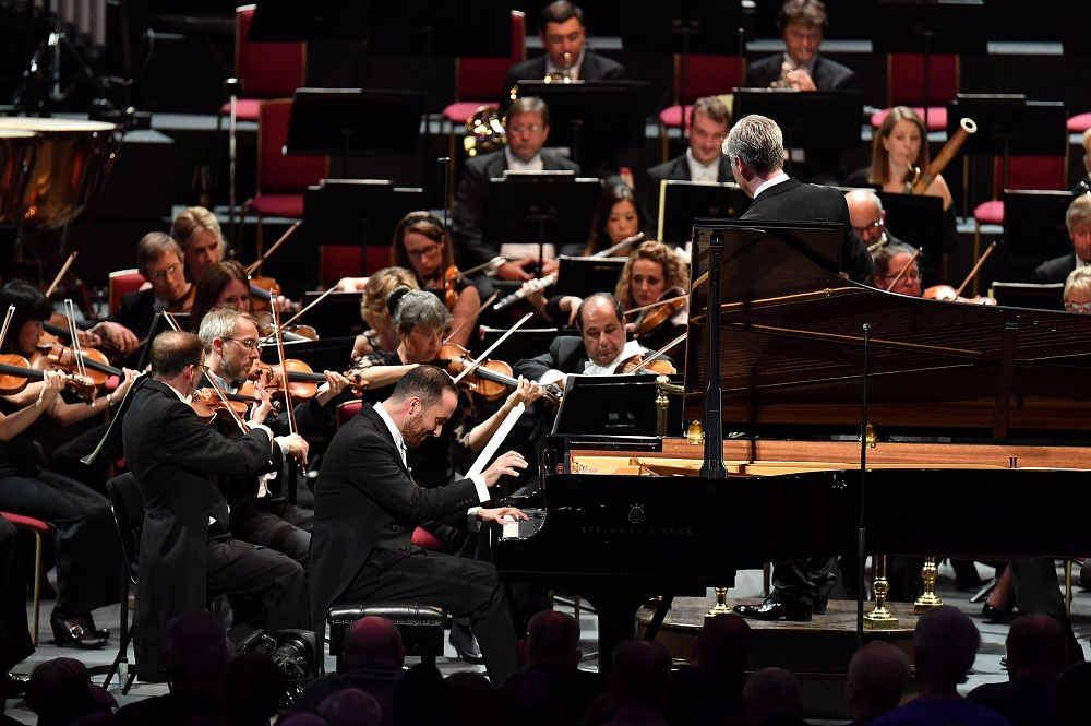 Igor Levit at the First Night of the Proms