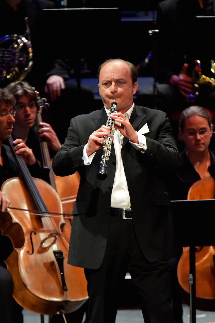 François Leleux performs Strauss's Oboe Concerto with Nicholas Collon and the Aurora Orchestra at the BBC Proms on Sunday 31 July.
