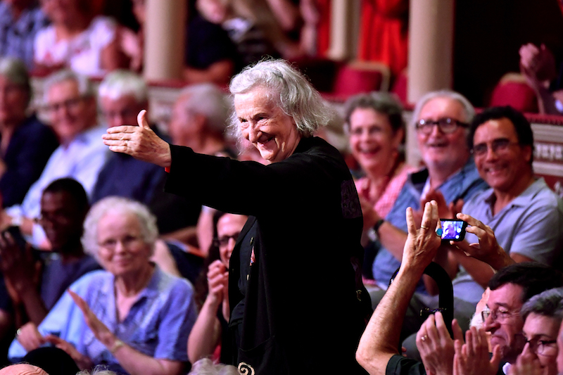 Composer Thea Musgrave, at the BBC Proms