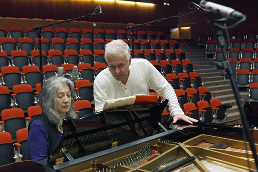 Stephen Kovacevich and Martha Argerich