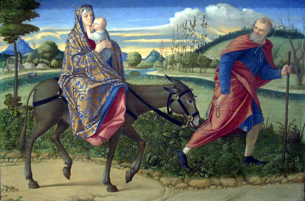 Carpaccio's Flight into Egypt