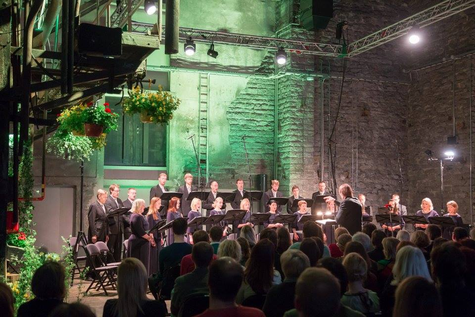 Estonian Radio Chamber Choir in Estonia Music Days final concert