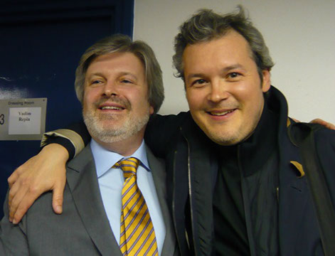 James MacMillan and Vadim Repin