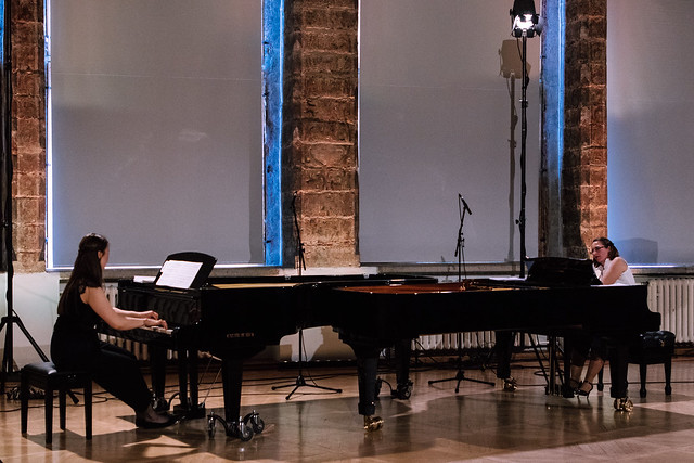 Two piano recital in Blackheads' White Hall