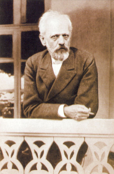 Tchaikovsky in 1893