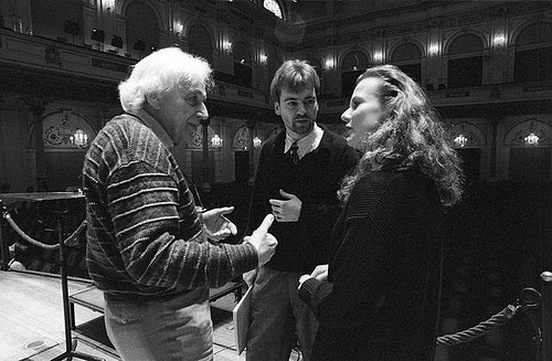 Ligeti, Nott and Ehlert in 1995