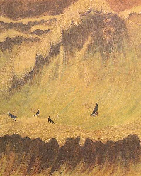 Ciurlionis's 'Finale' from 'A Sonata of the Sea'