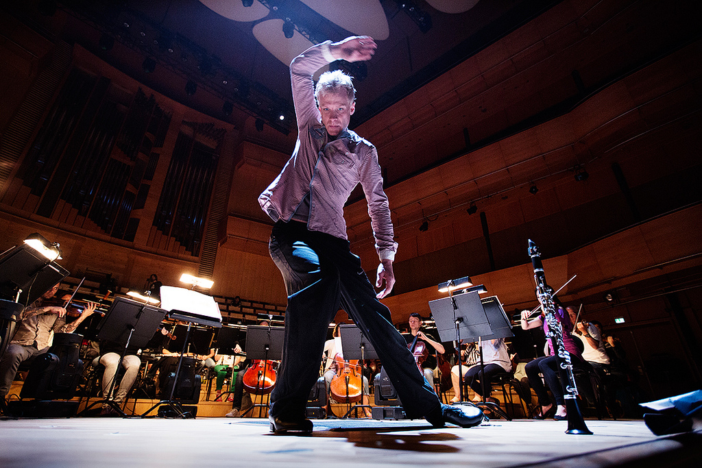 Martin Frost in Stavanger concert hall event by Nikolaj Lund