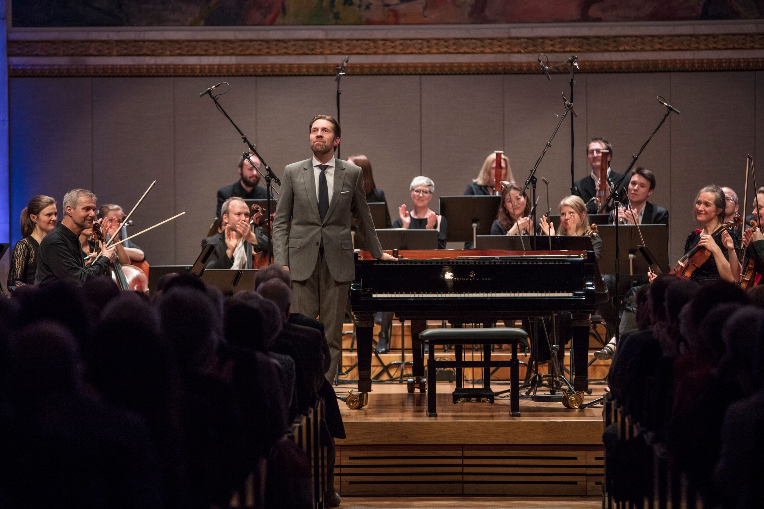 Leif Ove Andsnes in Oslo's University Aula