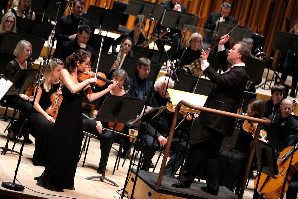 Pogostkina, Oramo and the BBC Symphony Orchestra