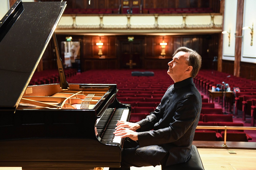 Stephen Hough in the Wigmore Hall