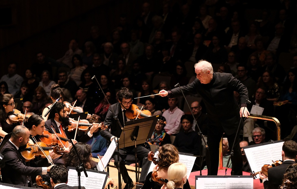 Daniel Barenboim and WEDO