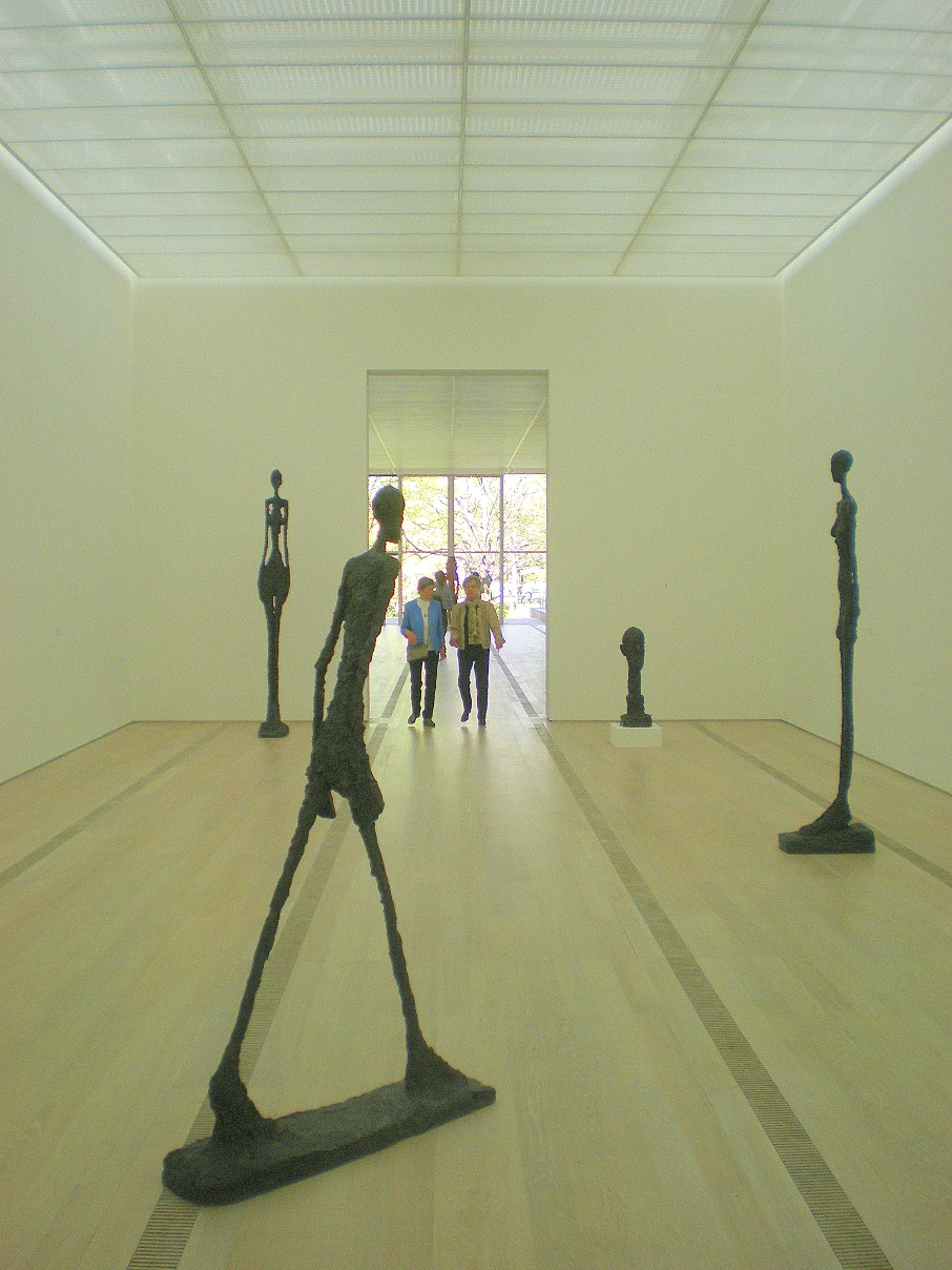 Giacomettis in the Beyeler