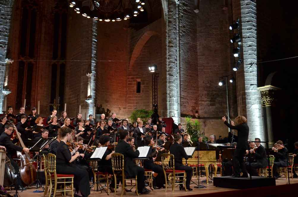 Insula Orchestra, Accentus Choir and Laurence Equilbey at Chaise-Dieu