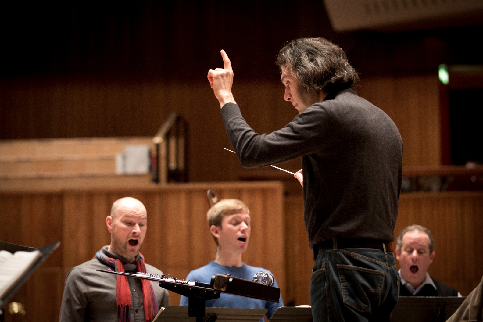 Countertenor trio and Jurowski in El Nino at the Royal Festival Hall