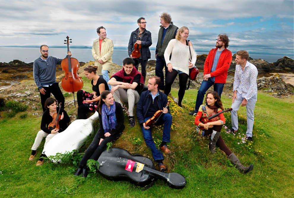 East Neuk retreat artists, 2015