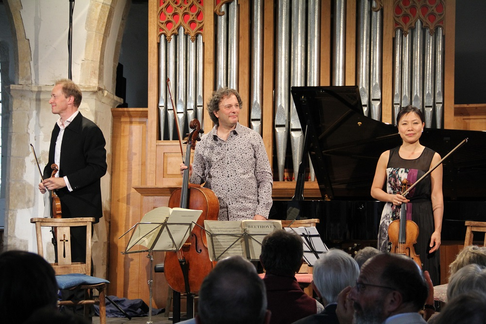 Trio at Peasmarsh Festival