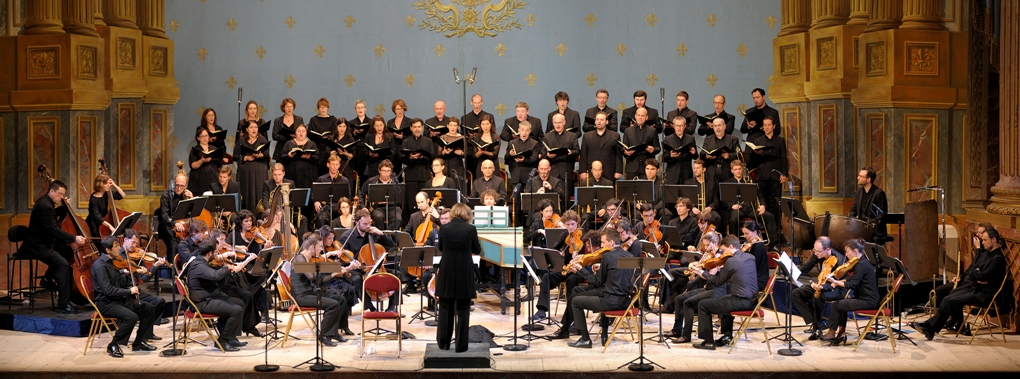 Insula Orchestra, Accentus Choir and Laurence Equilbey at Versailles