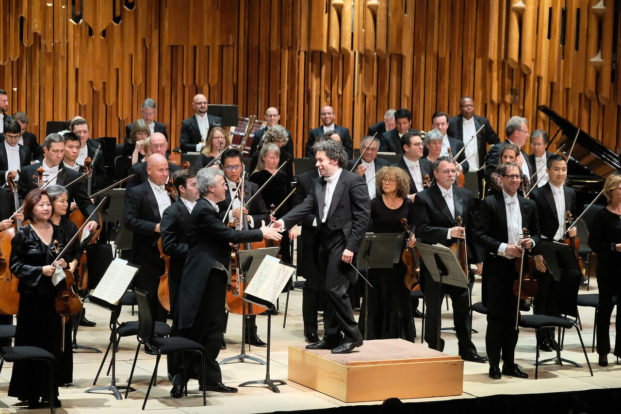 Dudamel and the LA Phil in the Barbican