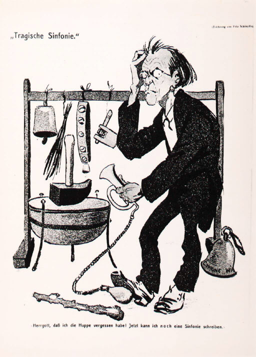 Caricature of percussion in Mahler's Sixth