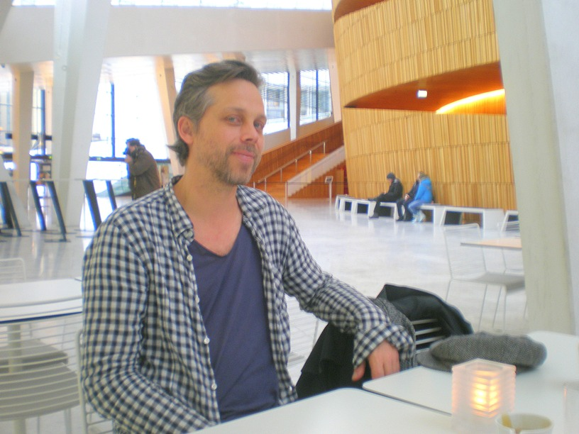Bjarte Eike in the Oslo Opera House