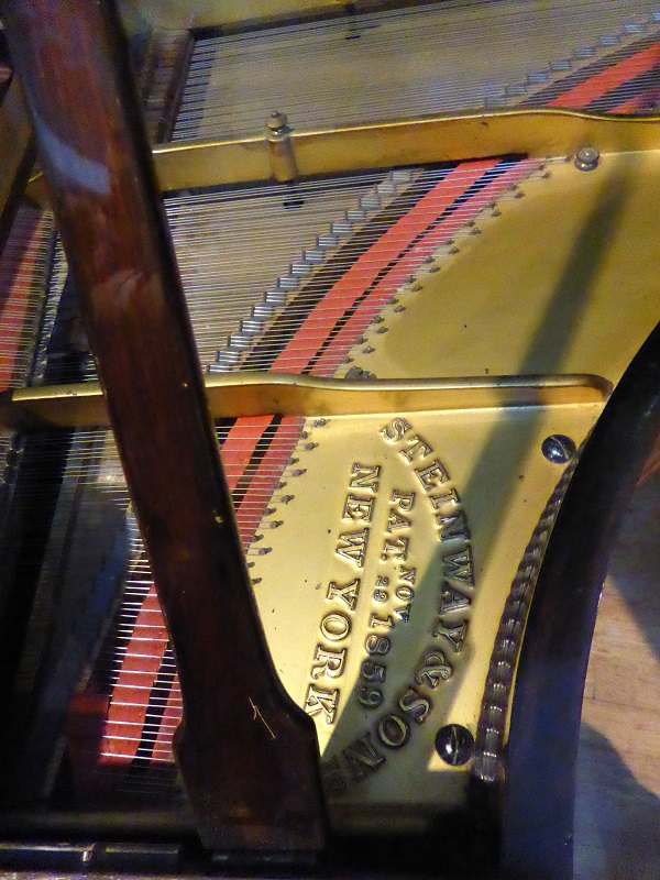 Steinway 1864 grand in Cobbe Collection