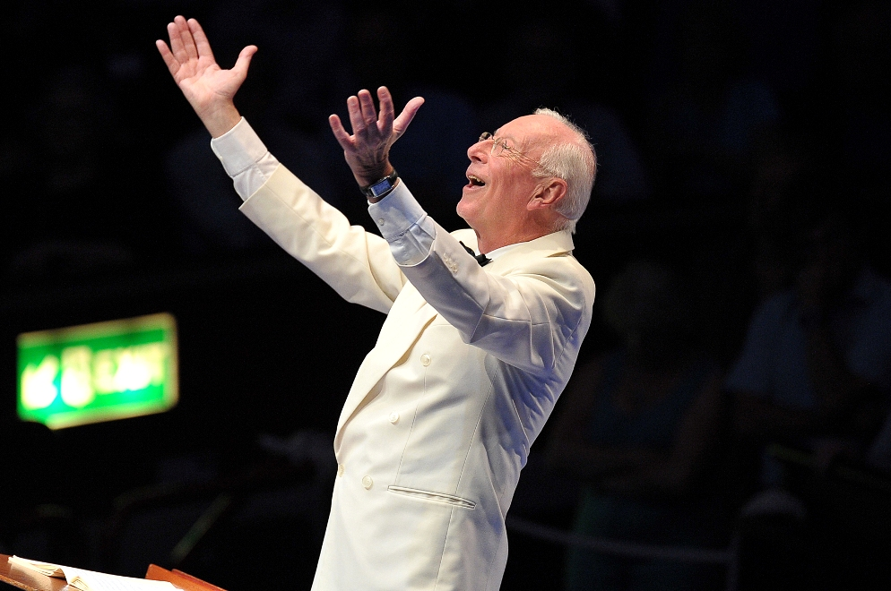 William Christie at the Proms