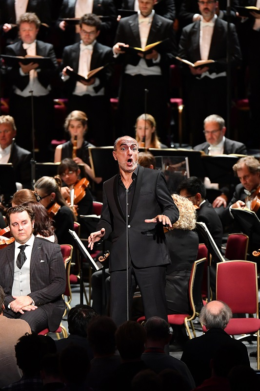 Laurent Naouri in La Damnation de Faust