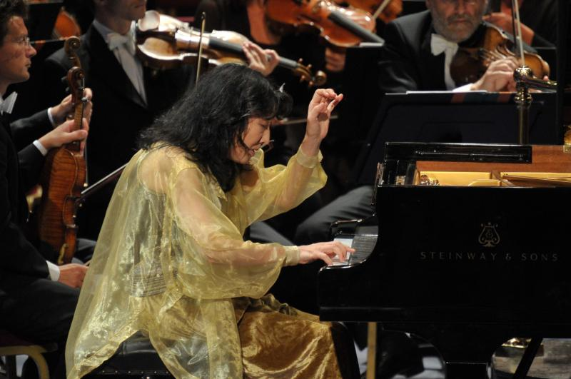 Mitsuko Uchida at the 2013 Proms