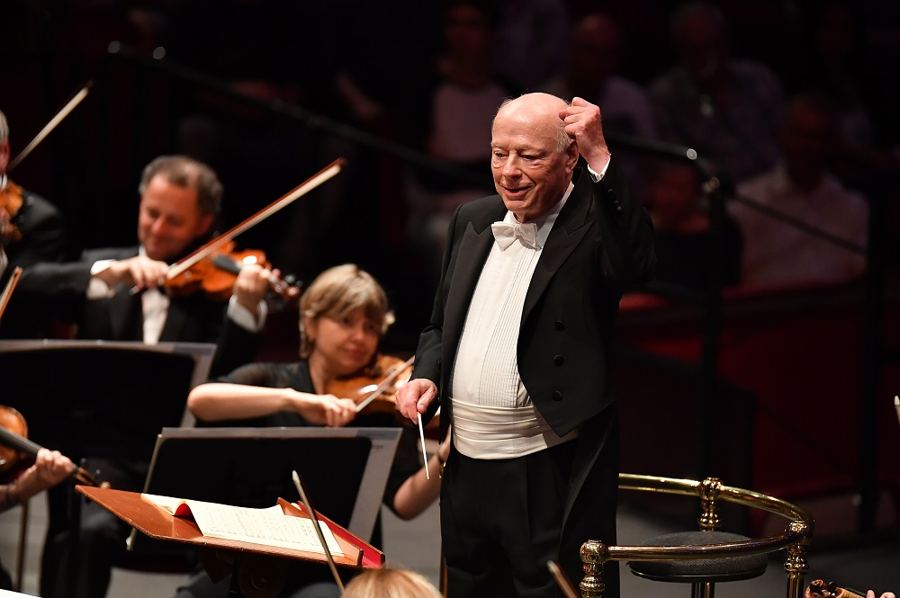 Bernard Haitink at the 2017 Proms