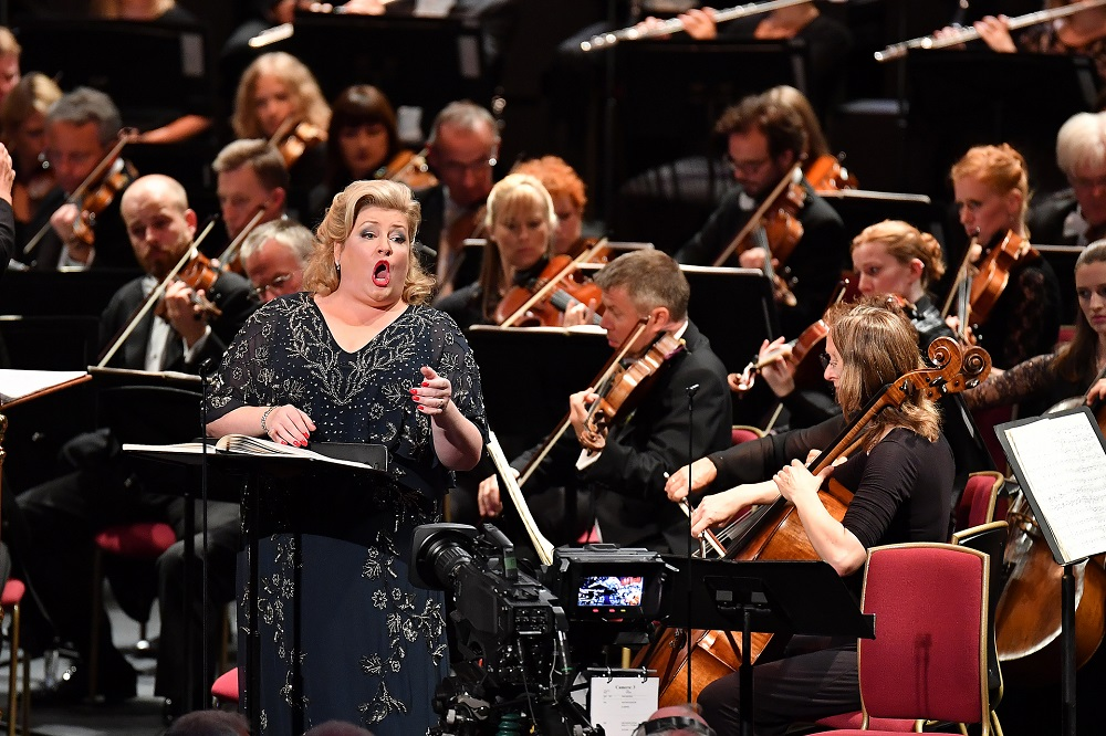 Karen Cargill in Schoenberg's Gurrelieder at the Proms