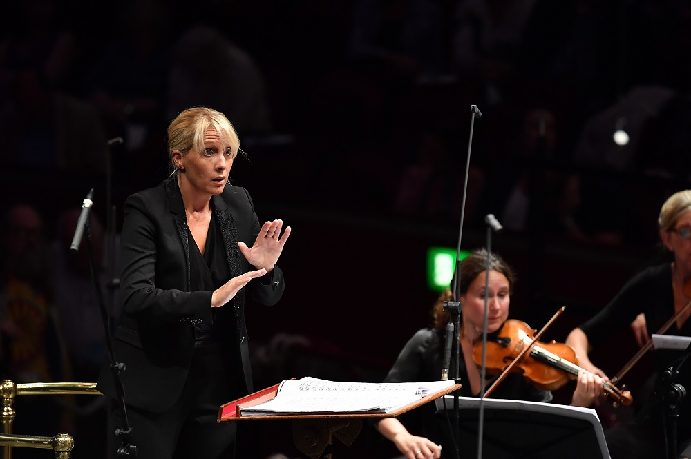 Sofi Jeannin at the Proms