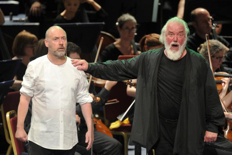 Lars Cleveman and Sir John Tomlinson in Proms Parsifal
