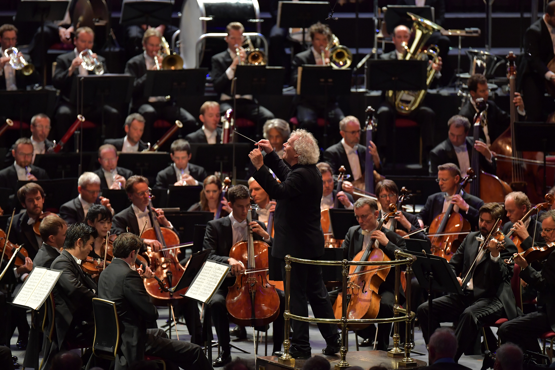 Rattle and the Berlin Philharmoniker at the Proms