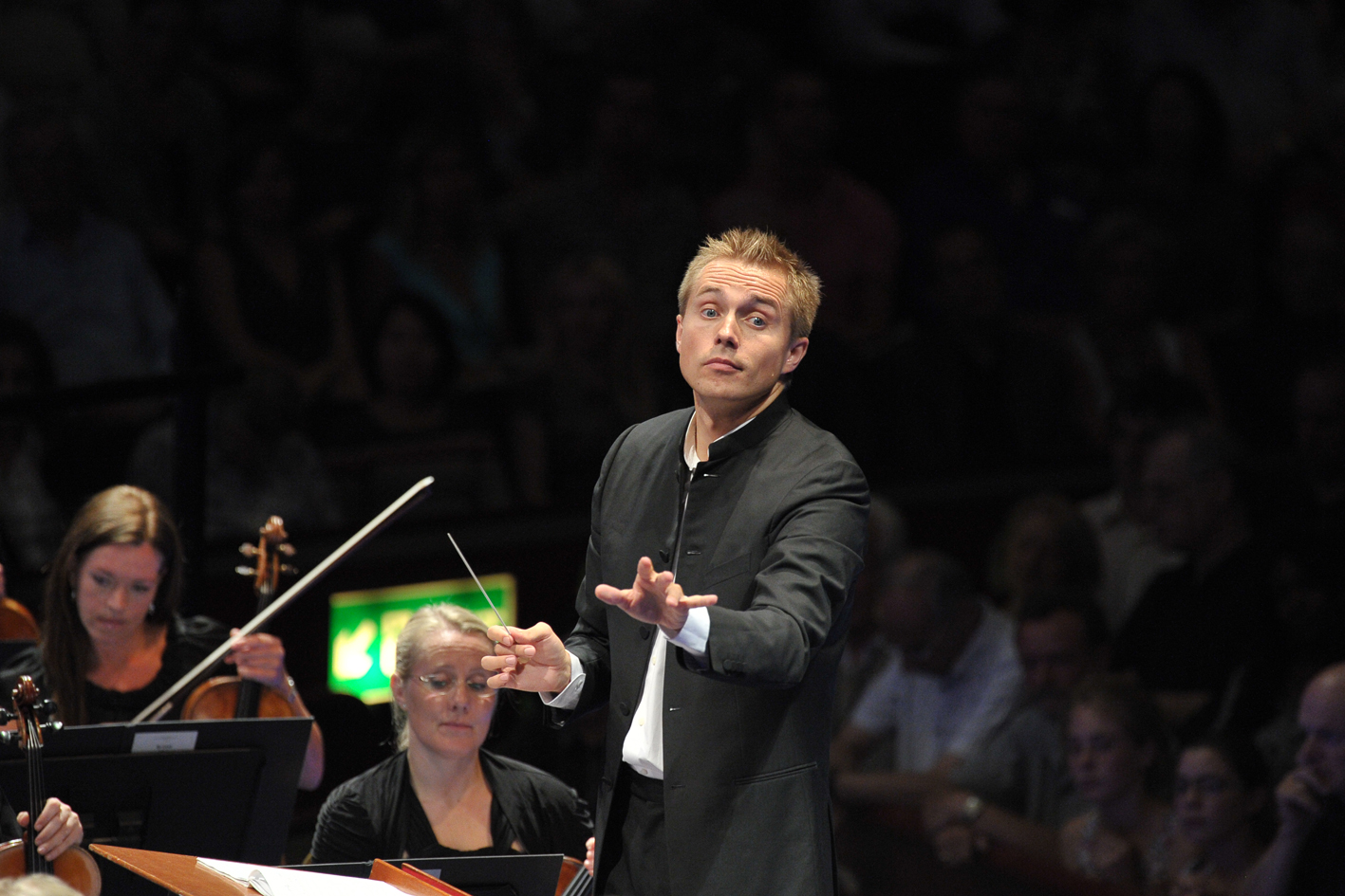 Vasily Petrenko at the 2013 Proms by Chris Christodoulou