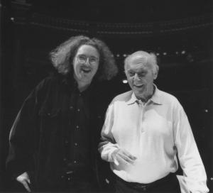 Stephane Deneve and Sir Georg Solti