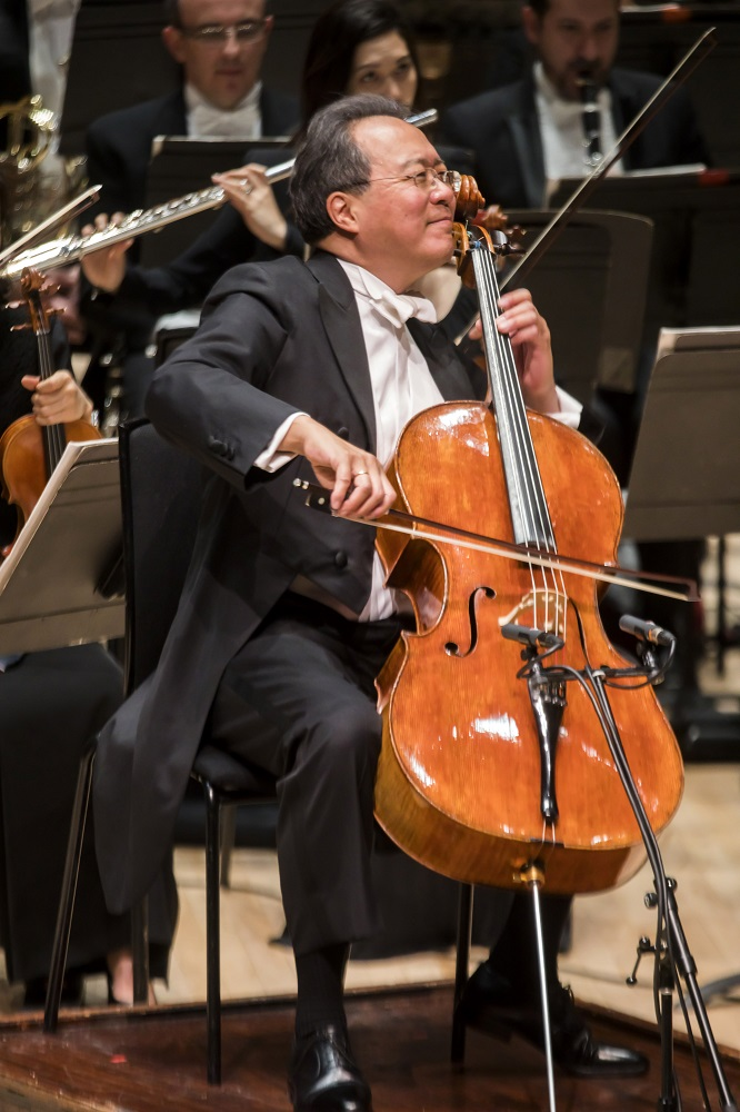 Yo-Yo Ma with the New York Philharmonic