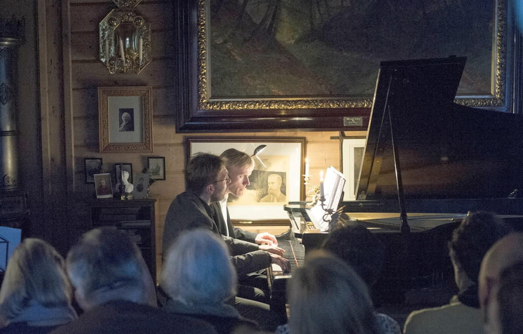 Recital in Grieg's house