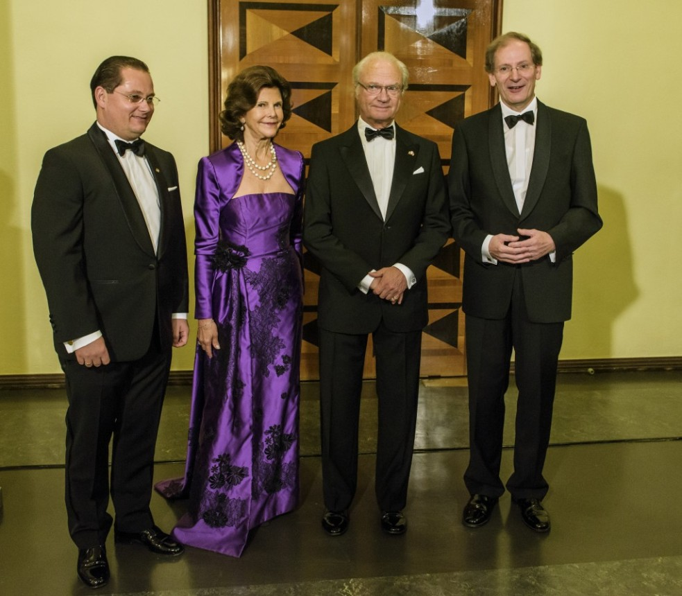Royalty at the Birgit Nilsson Prize