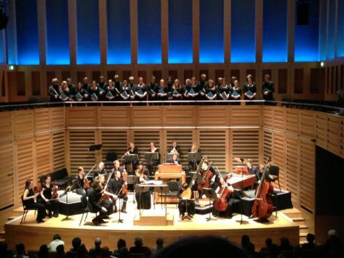 Clare College Cambridge Choir and Aurora Orchestra at Kings Place