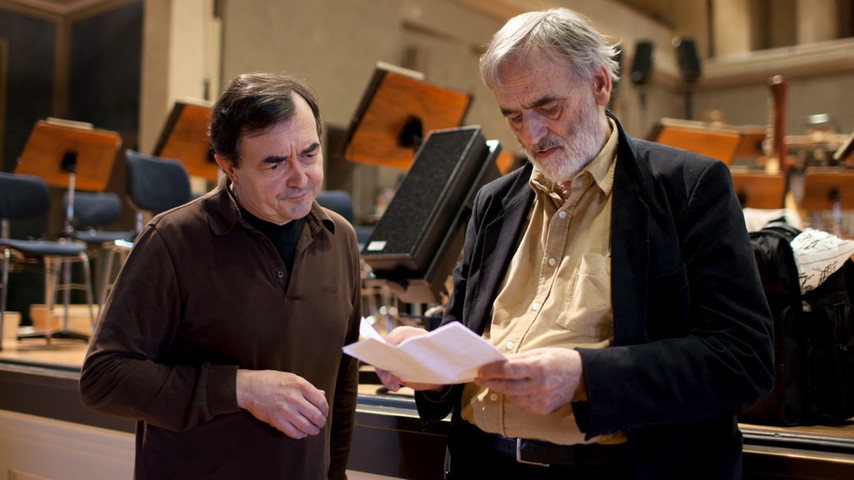 Lachenmann and Aimard