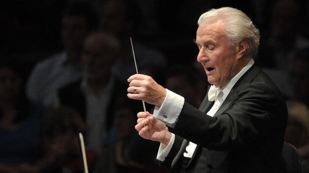 Sir Colin Davis conducting the Missa Solemnis at the 2011 Proms by Chris Christodoulou
