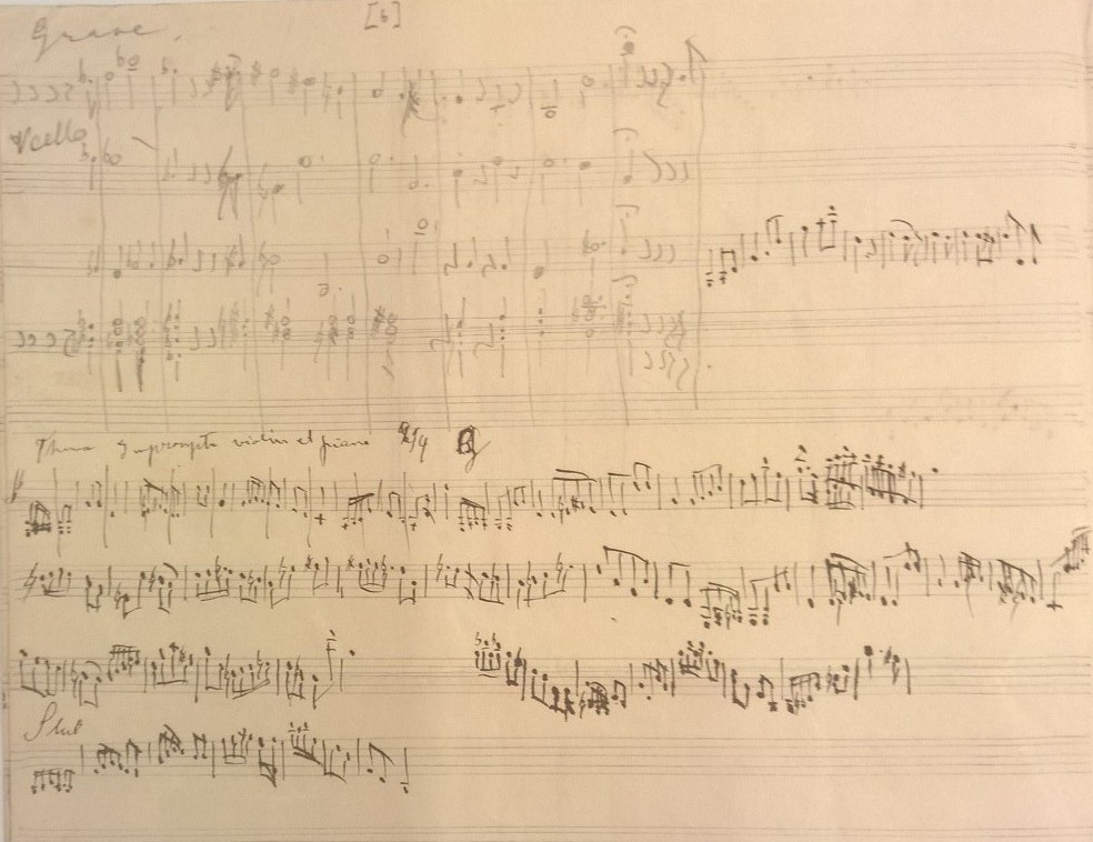 Sibelius early piece