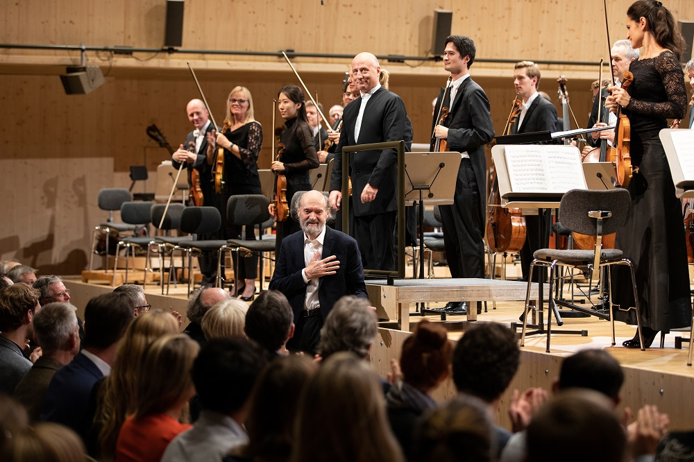 Paavo Jarvi and Arvo Part in the Tonhalle