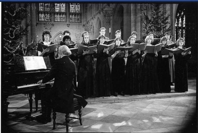 Sarah Connolly in David Willcocks' chamber choir