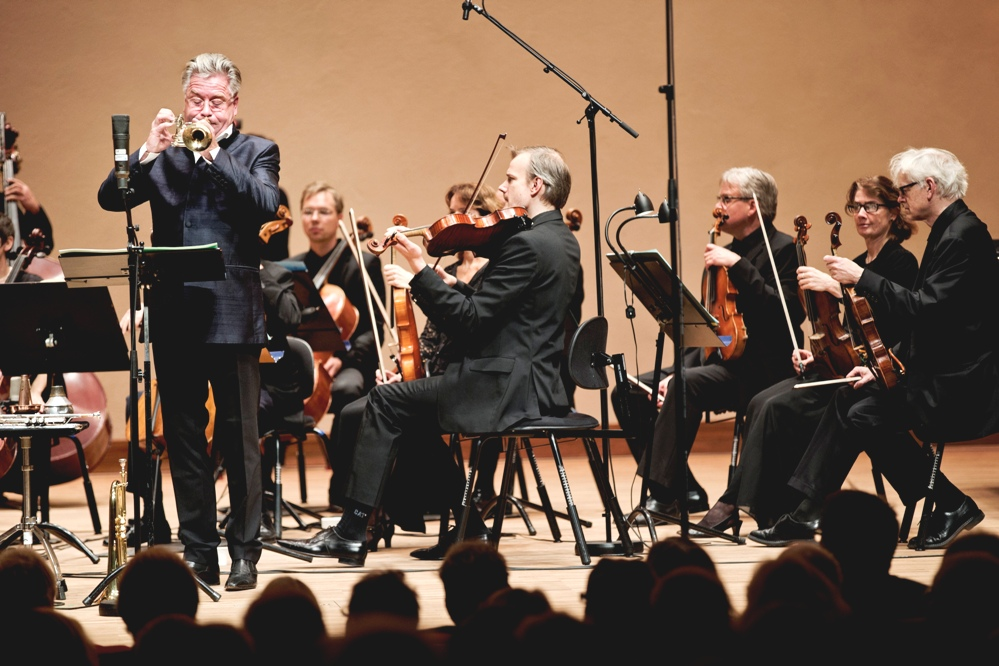 Hakan Hardenberger and the Swedish Chamber Orchestra