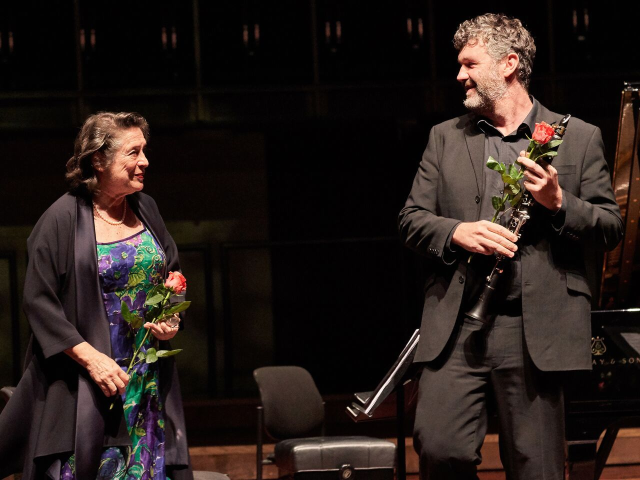 Elisabeth Leonskaja and Matt Hunt