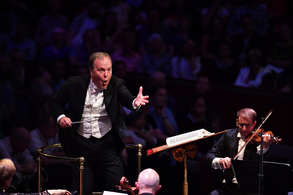 Sakari Oramo at the First Night of the Proms