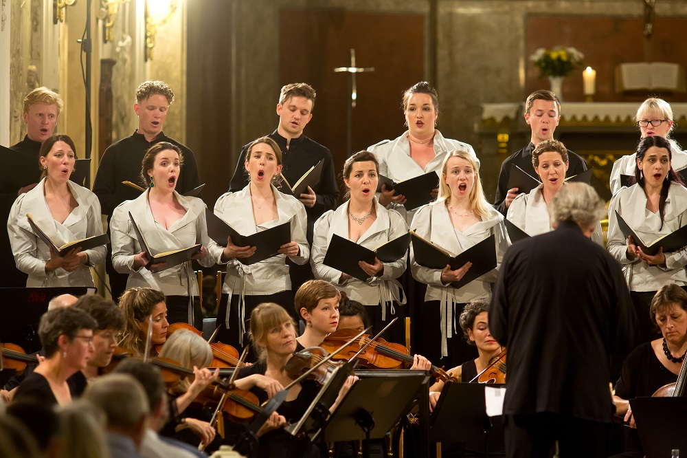 Monteverdi Choir in Leipzig